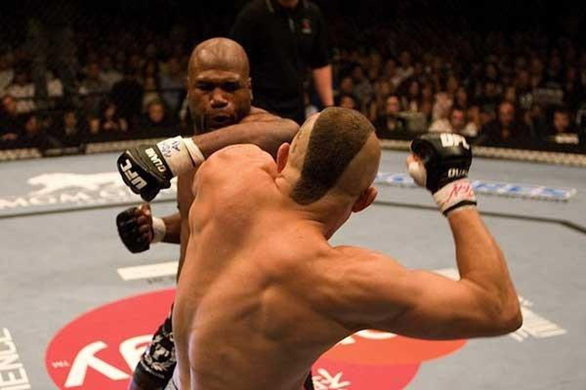 Chuck Liddell vs Rampage Jackson