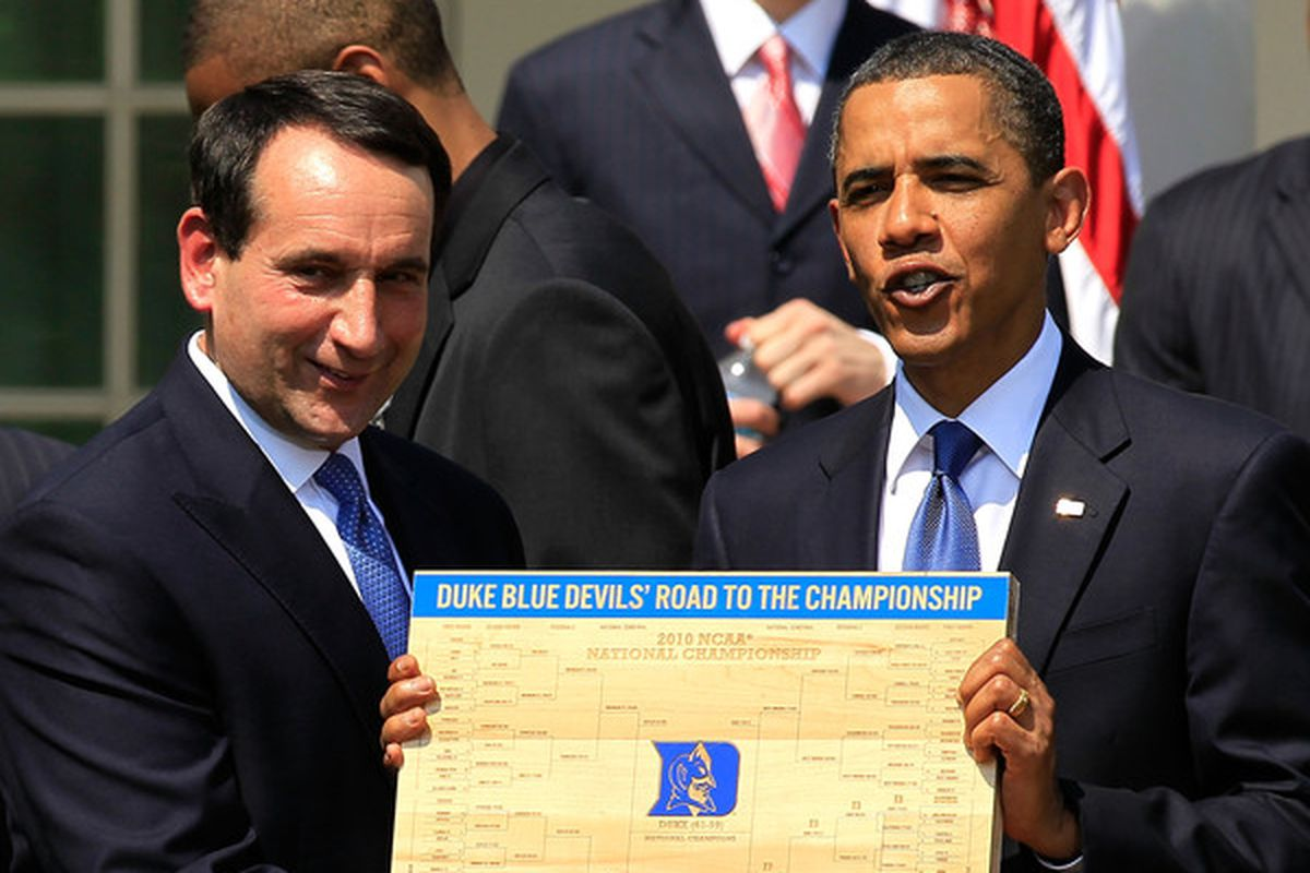 Who will be getting the bracket from President Obama this year? We're about to take the first steps towards knowing.