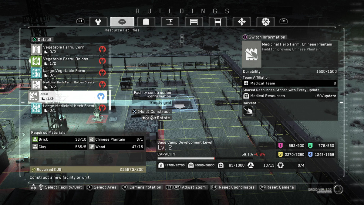 Metal Gear Survive guide: Managing base camp, your crew and
