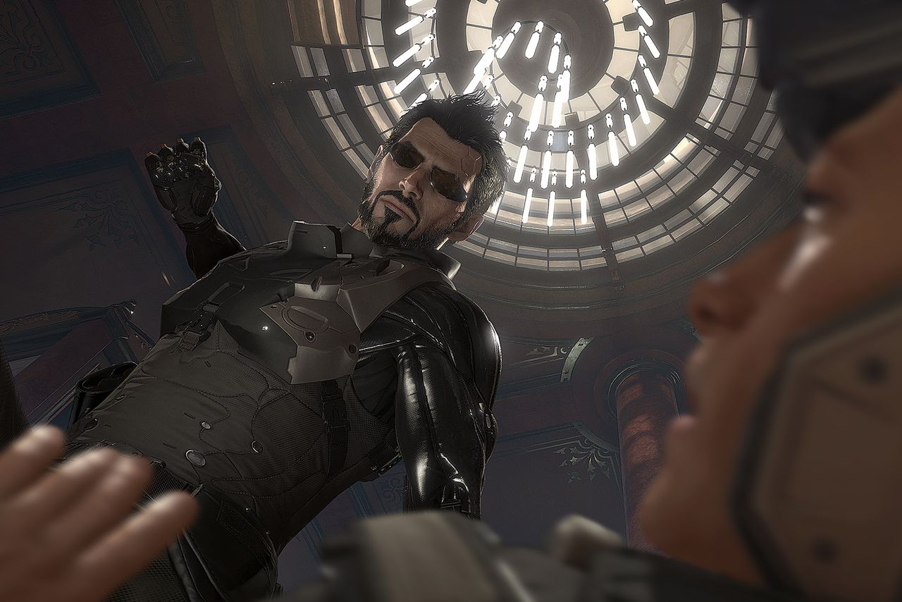 Exploring Deus Ex: Mankind Divided's massive new cyberpunk