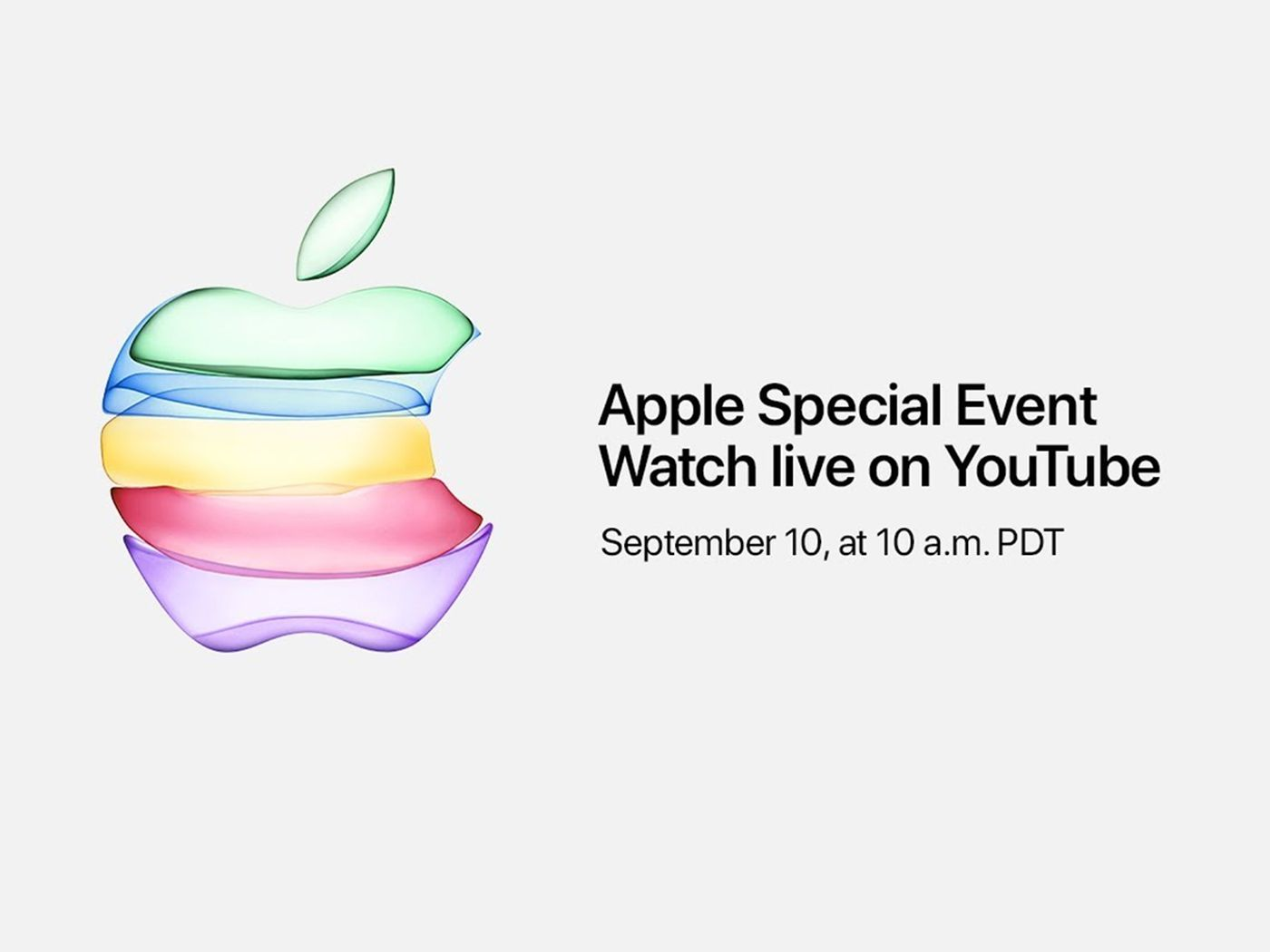 Apple will live stream its iPhone 11 event on YouTube for