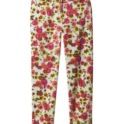 Ann Taylor retro floral crop pant, $78. Available at Ann Taylor (Northbrook Court, Oakbrook Center, Water Tower Place).