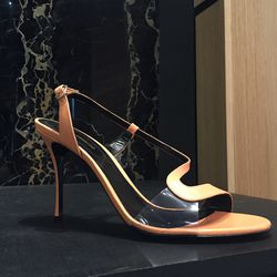 Heels, now $180 (from $225, backstock available)