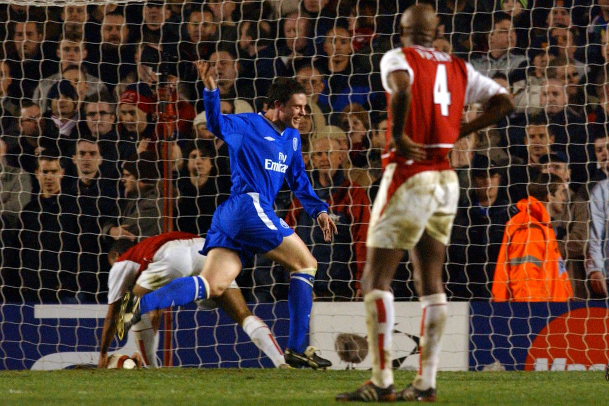Soccer - UEFA Champions League - Quarter Final - Second Leg - Arsenal v Chelsea