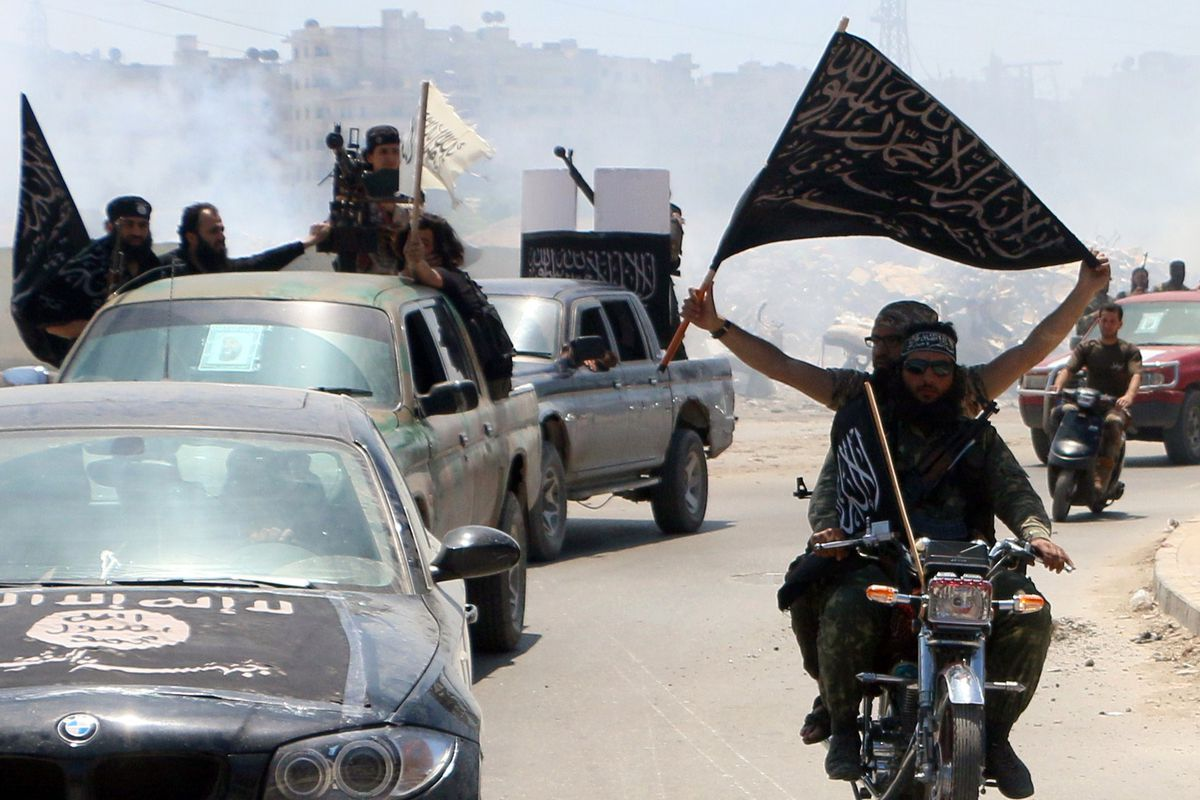 Al-Qaeda fighters in Syria.