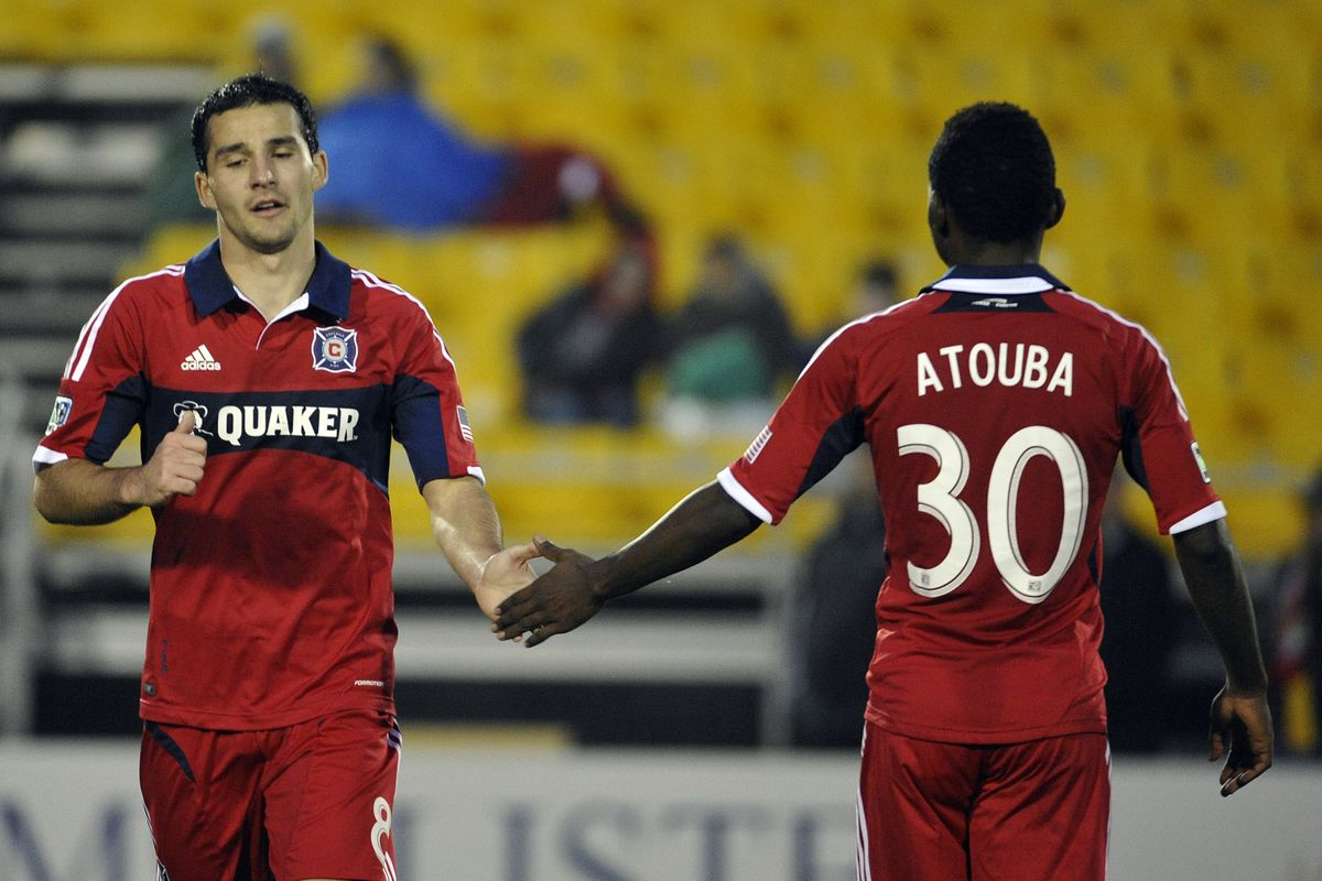 How will Duka do in his first regular season Fire appearance?  Will we see Atouba as well?