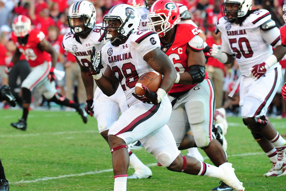 Mike Davis has a pair of 75-yard runs this season. Probably something to take note of.