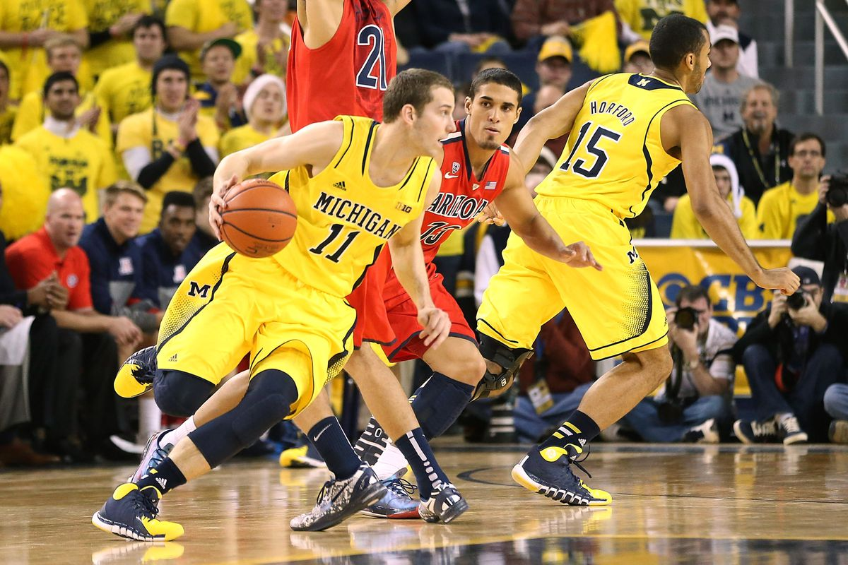 Michigan wasn't able to complete the upset of Arizona
