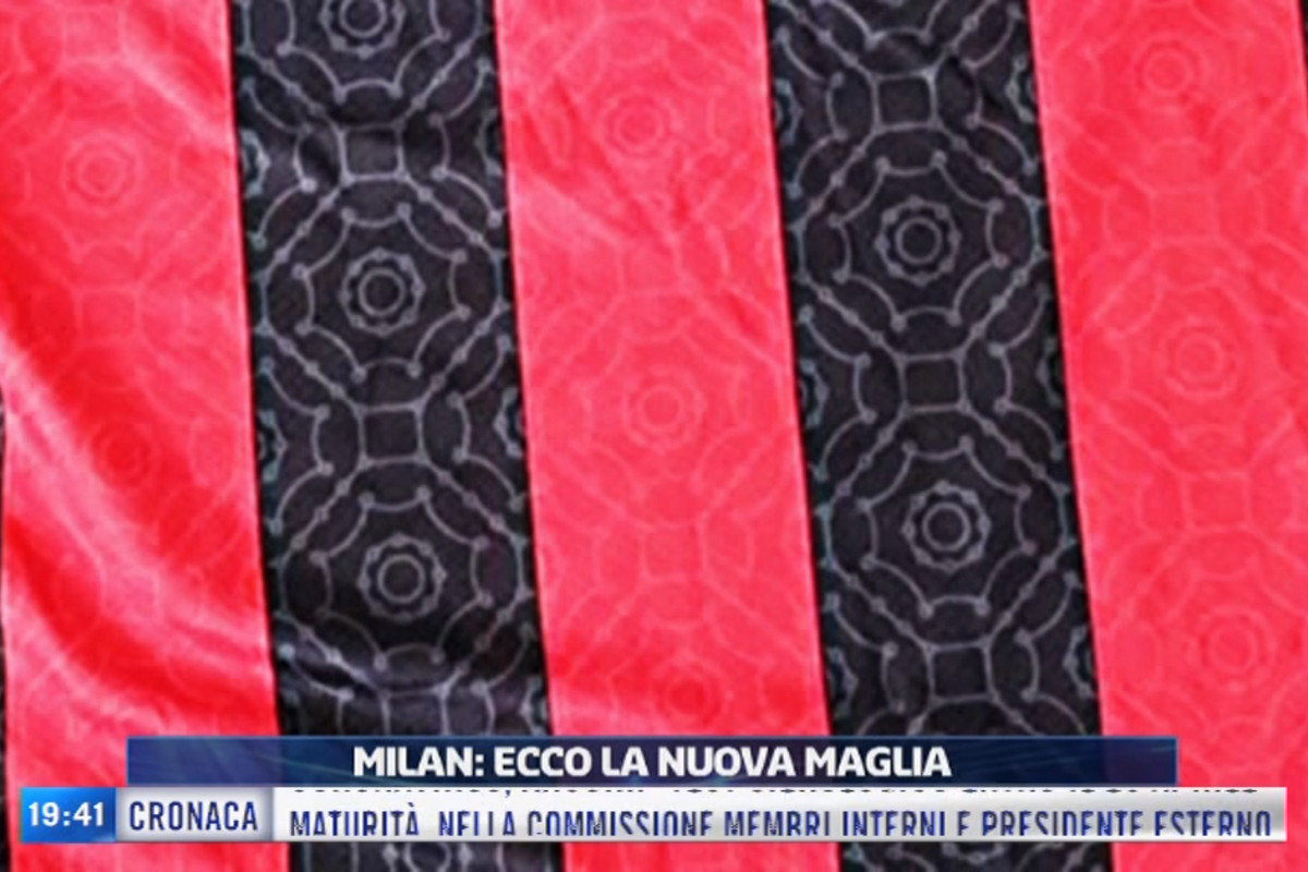 Leaked Actual Test Shirt Of Ac Milan 2020 21 Home Shirt Surfaces The Ac Milan Offside