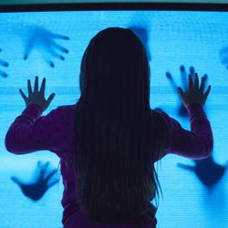 """Madison Bowen (Kennedi Clements) discovers apparitions that have invaded her family's home in the 1982 horror film """"Poltergeist,"""" one of the many films from the 1980s that the hit Netflix show """"Stranger Things"""" references. The second season of """"Stranger Things"""" will be available on Oct. 27."""