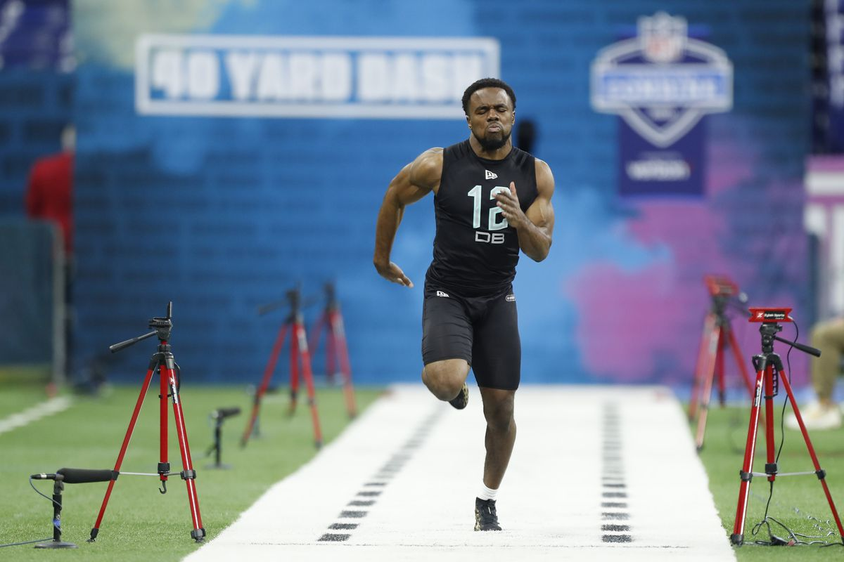 Offensive Linemen Run the 40-Yard Dash | 2019 NFL Combine