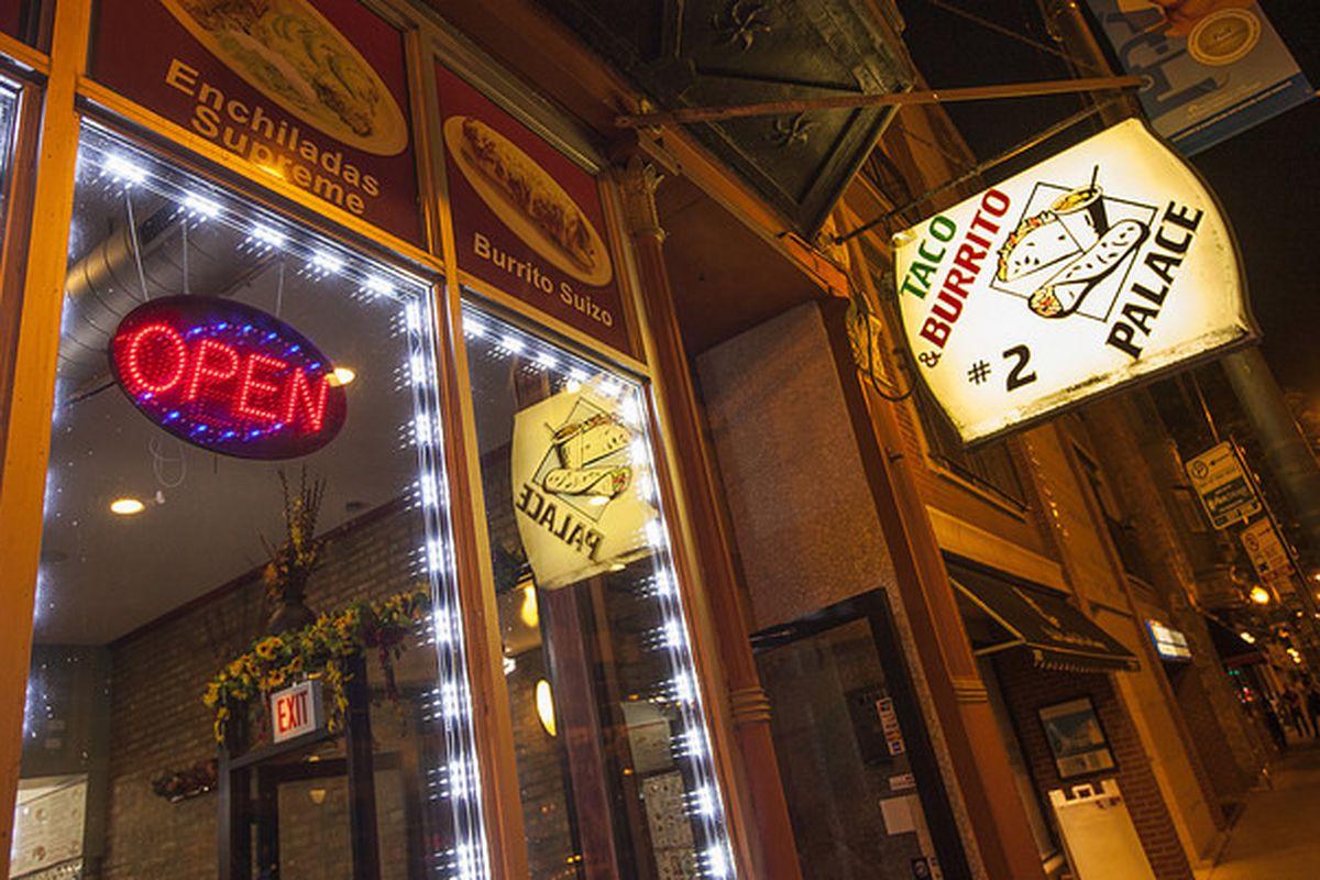 Taco & Burrito Palace No. 2