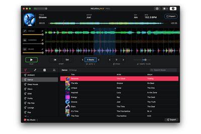 Algoriddim's Neural Mix Mac app