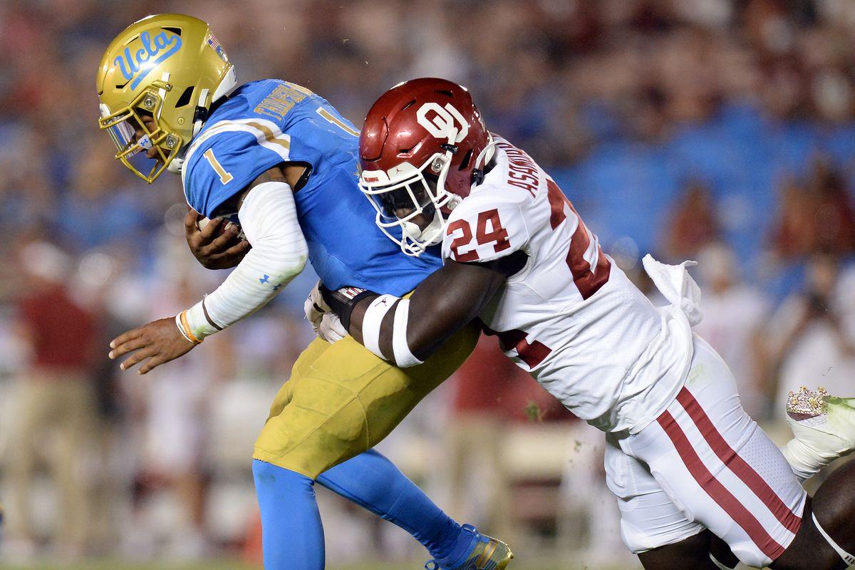 NCAA Football: Oklahoma at UCLA