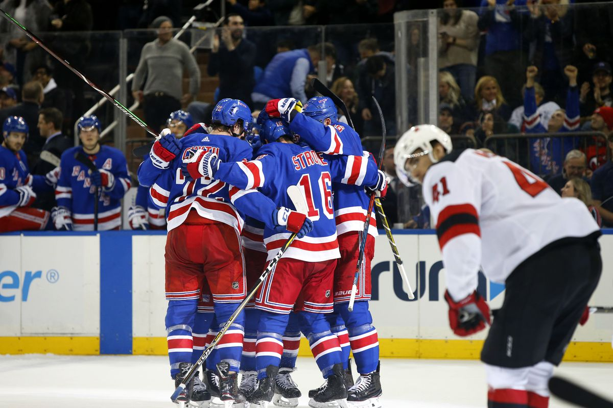 New Jersey Devils Blew a Lead and Suffered Another Loss to the New York  Rangers 82ffcd8f9