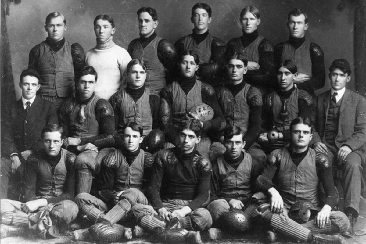 The 1905 Aggies lost to KU and swore to win the next time