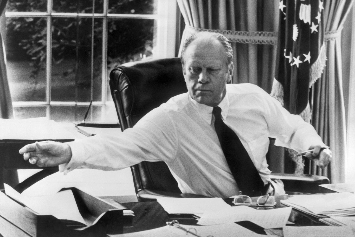 The breakup of AT&T began under Republican President Gerald Ford.