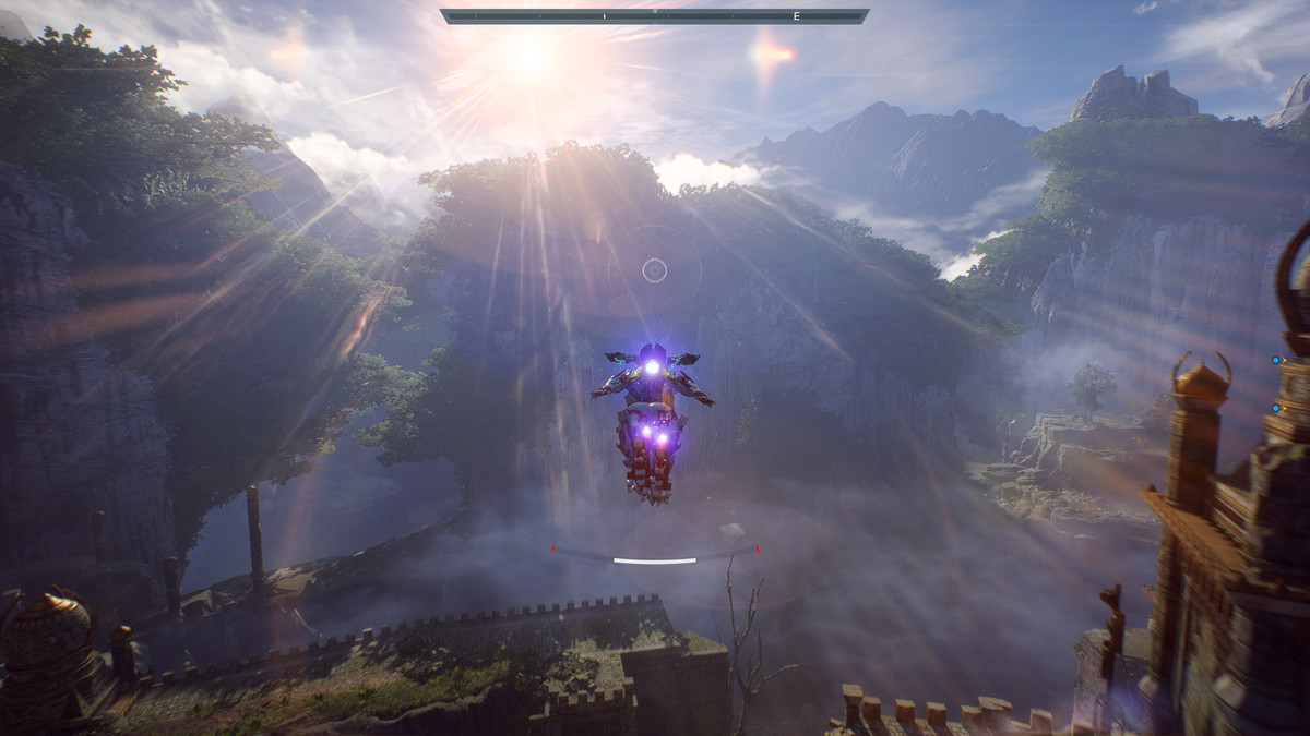 Anthem - Javelin flying in Freeplay mode