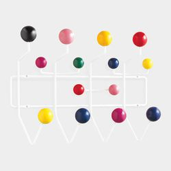 """<b>Eames</b> Hang It All Coat Rack, <a href=""""http://www.momastore.org/museum/moma/ProductDisplay_Eames%20Hang-It-All%20Coat%20Rack_10451_10001_11854_-1_26674_26675_11855"""">$199</a> at <b>MoMA</b>"""