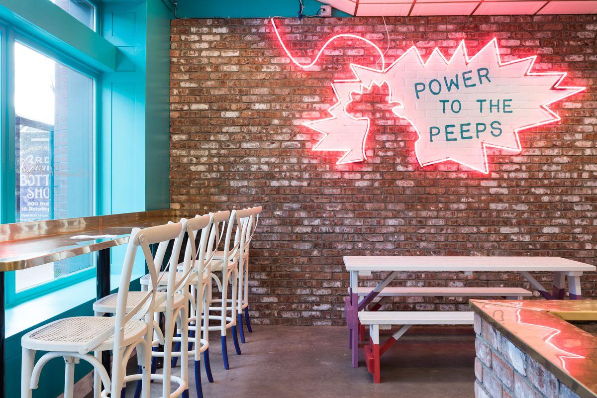 Rainbows & Splattered Campbell's Soup, ChkChk's 'Barn Pop' Interior Revealed