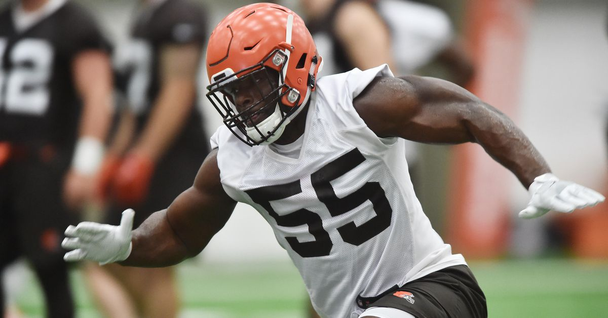 cleveland browns sign 5th round draft pick lb genard