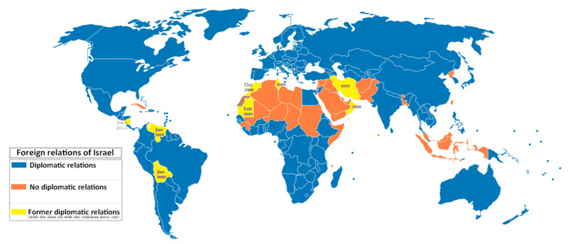 Israel And Palestine World Map.Israeli Palestinian Conflict What The World Thinks Vox
