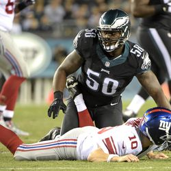 Trent Cole after the hunt