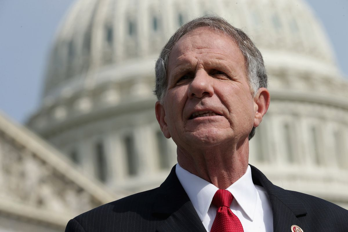 Victims' Rights Caucus Chairman Rep. Ted Poe Discusses Human Trafficking Bills On Capitol Hill