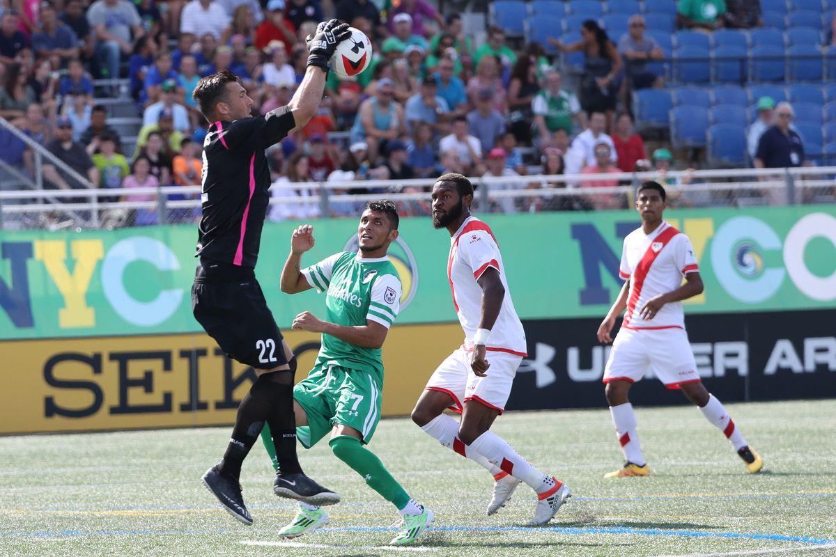Soccer: Rayo OKC at New York Cosmos
