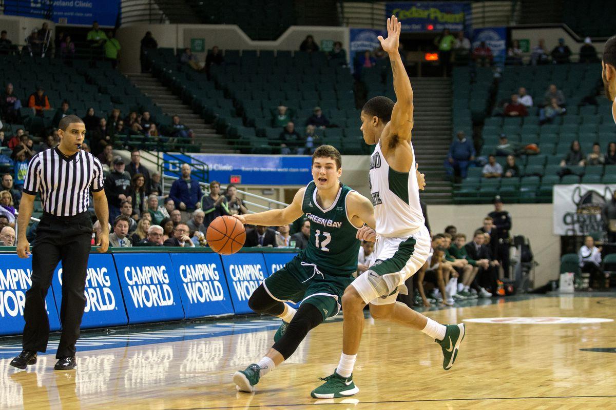 NCAA BASKETBALL: DEC 29 Green Bay at Cleveland State