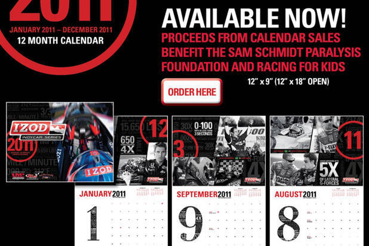 2011 Official IZOD IndyCar Series Calendar
