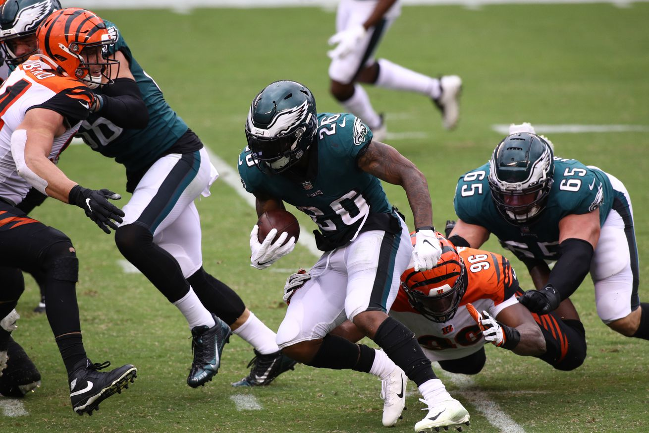 NFL: SEP 27 Bengals at Eagles