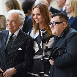 Ralph Lauren, Stella McCartney and the always-adorable Alber Elbaz. All photos Getty Images.