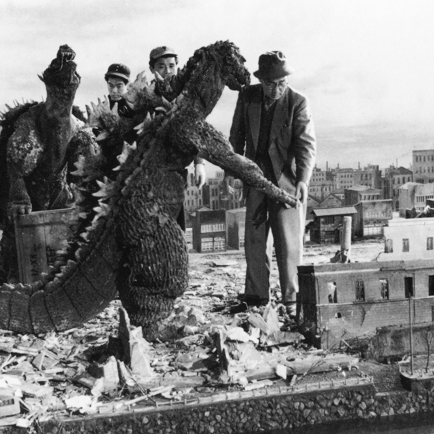 Godzilla Wouldn T Exist Without Eiji Tsuburaya Director Cinematographer And Special Effects Master Vox Godzilla, japanese horror film, released in 1954, that was directed and cowritten by honda ishirō and features innovative special effects by tsuburaya eiji. eiji tsuburaya