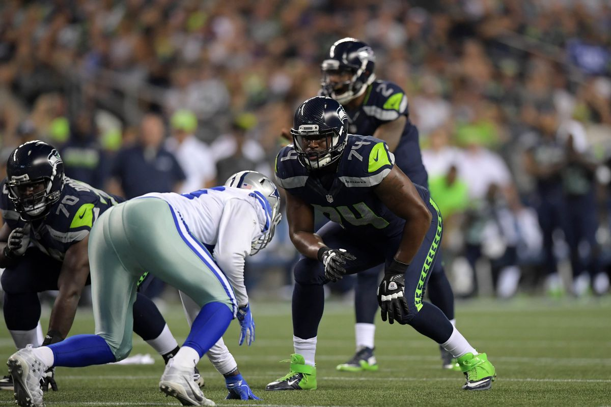 The Seahawks New Starting Left Tackle Hasn T Started A Football