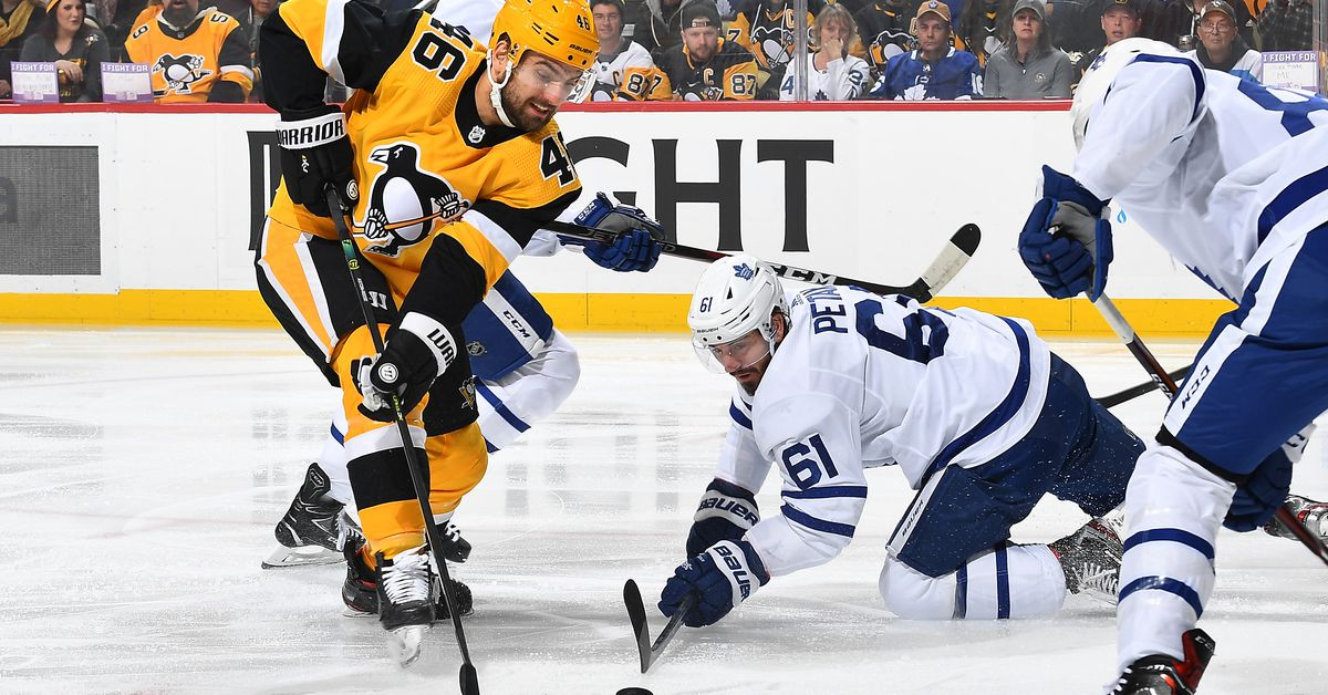 Toronto Maple Leafs get beat down by the Penguins; lose 6-1 - Pension Plan Puppets