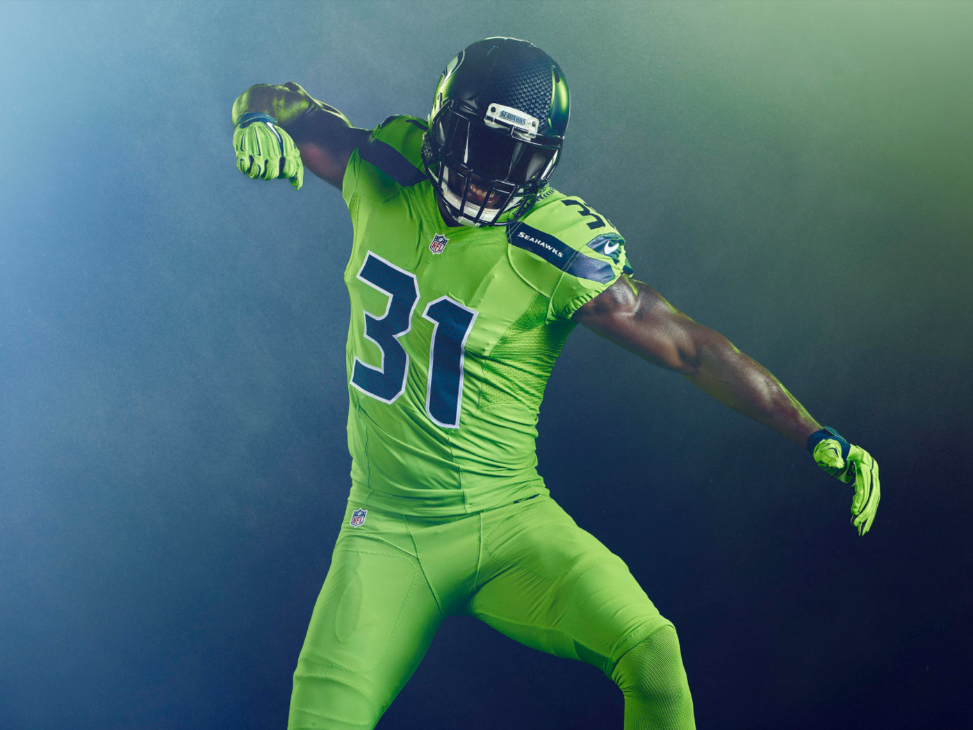 Seahawks are wearing the best Color Rush uniforms yet on 'Thursday ...