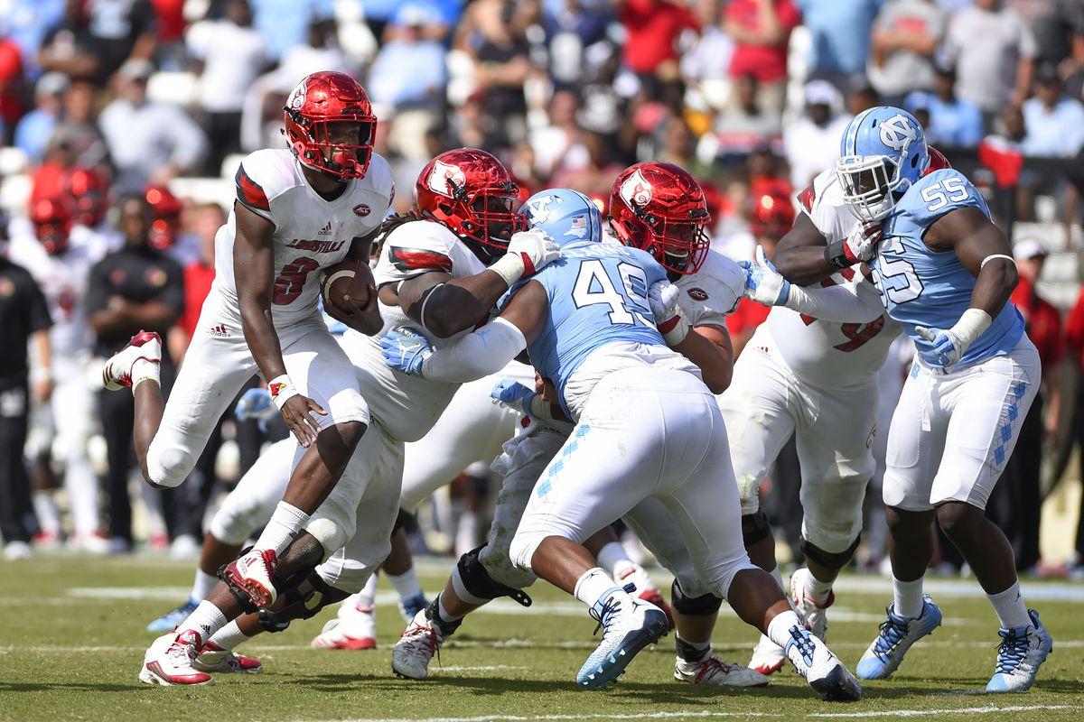 NCAA Football: Louisville at North Carolina