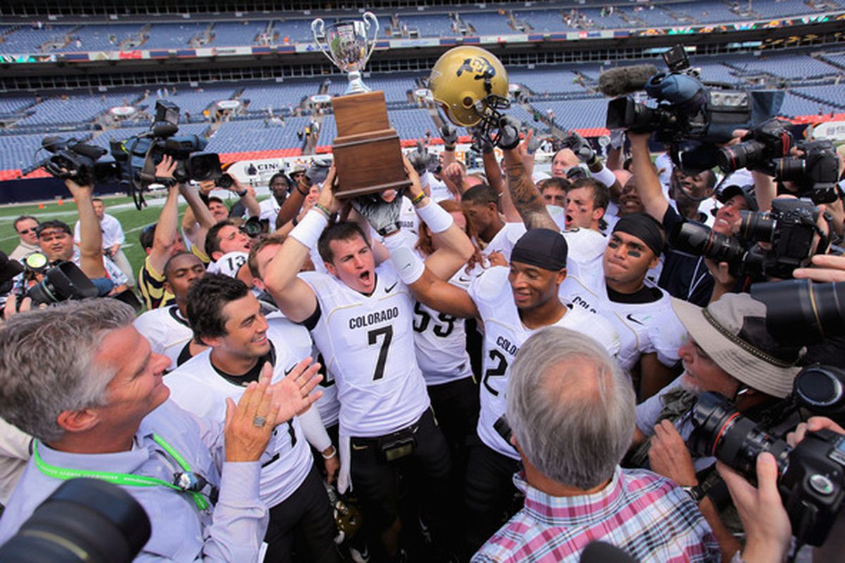 Colorado State, a team even Cody Hawkins can beat. (Photo by Doug Pensinger/Getty Images)