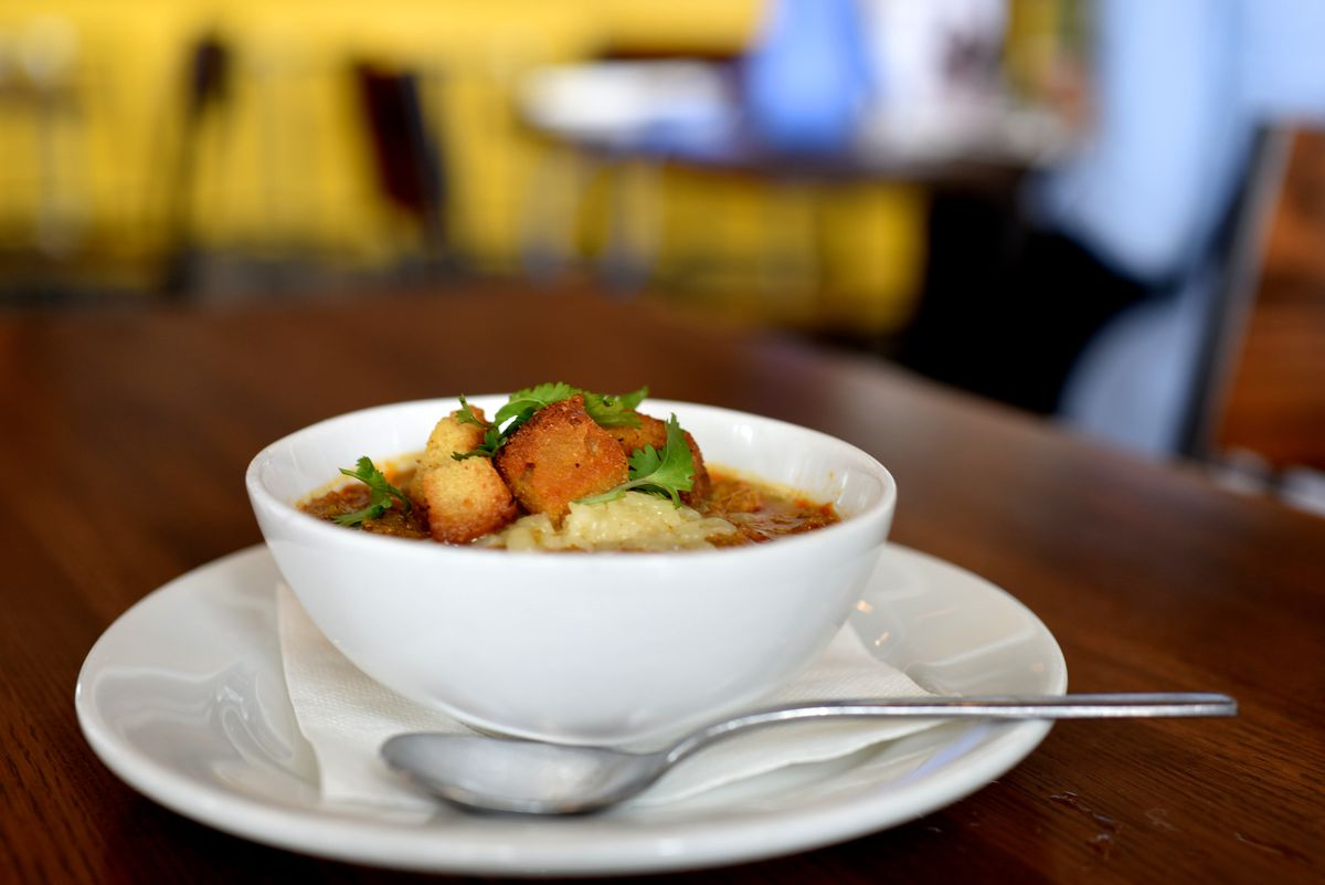 Spicy Red Curry Chili at Dish Society