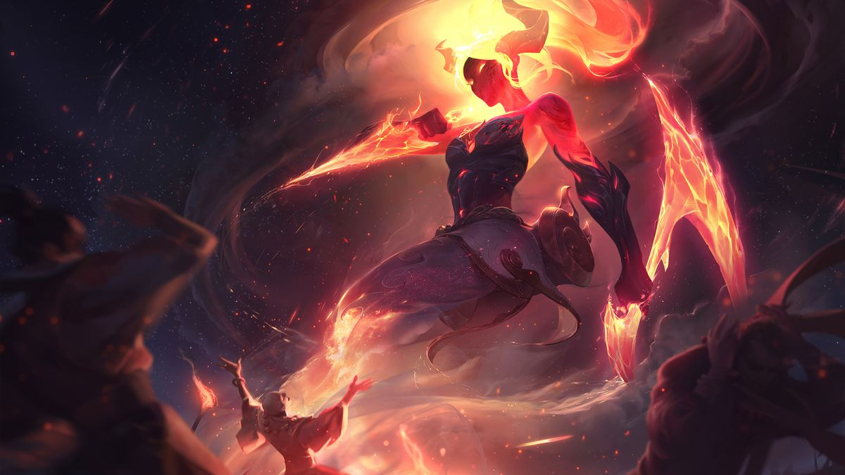 Akali Rework Skins And Splash Art Updates