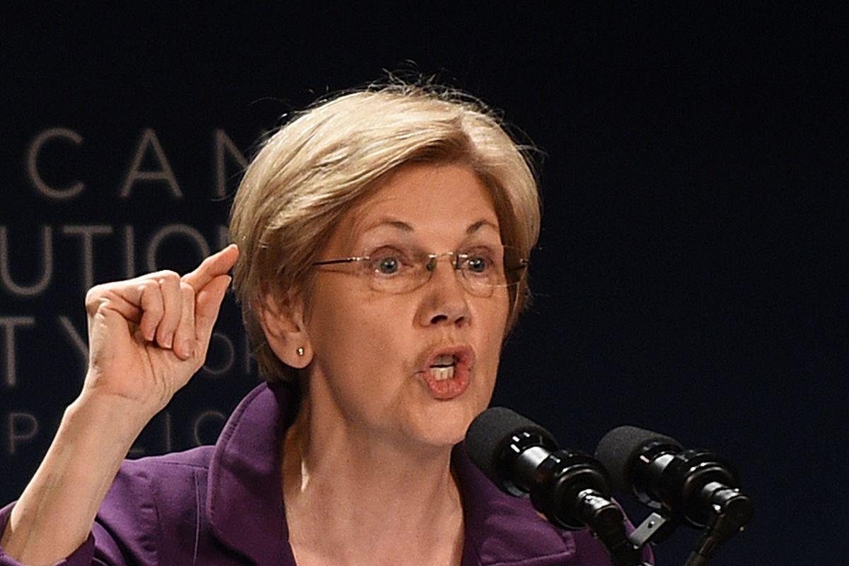 Sen. Elizabeth Warren Speaks At The American Constitution Society National Convention