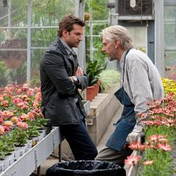 """This film image released by CBS Films shows Bradley Cooper and Jeremy Irons in a scene from """"The Words."""""""