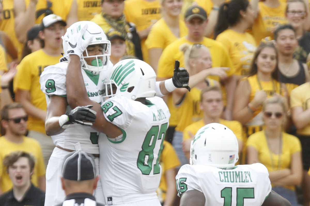 timeless design 95fb0 ea063 North Texas Mean Green Unit Preview: Wide receivers ...