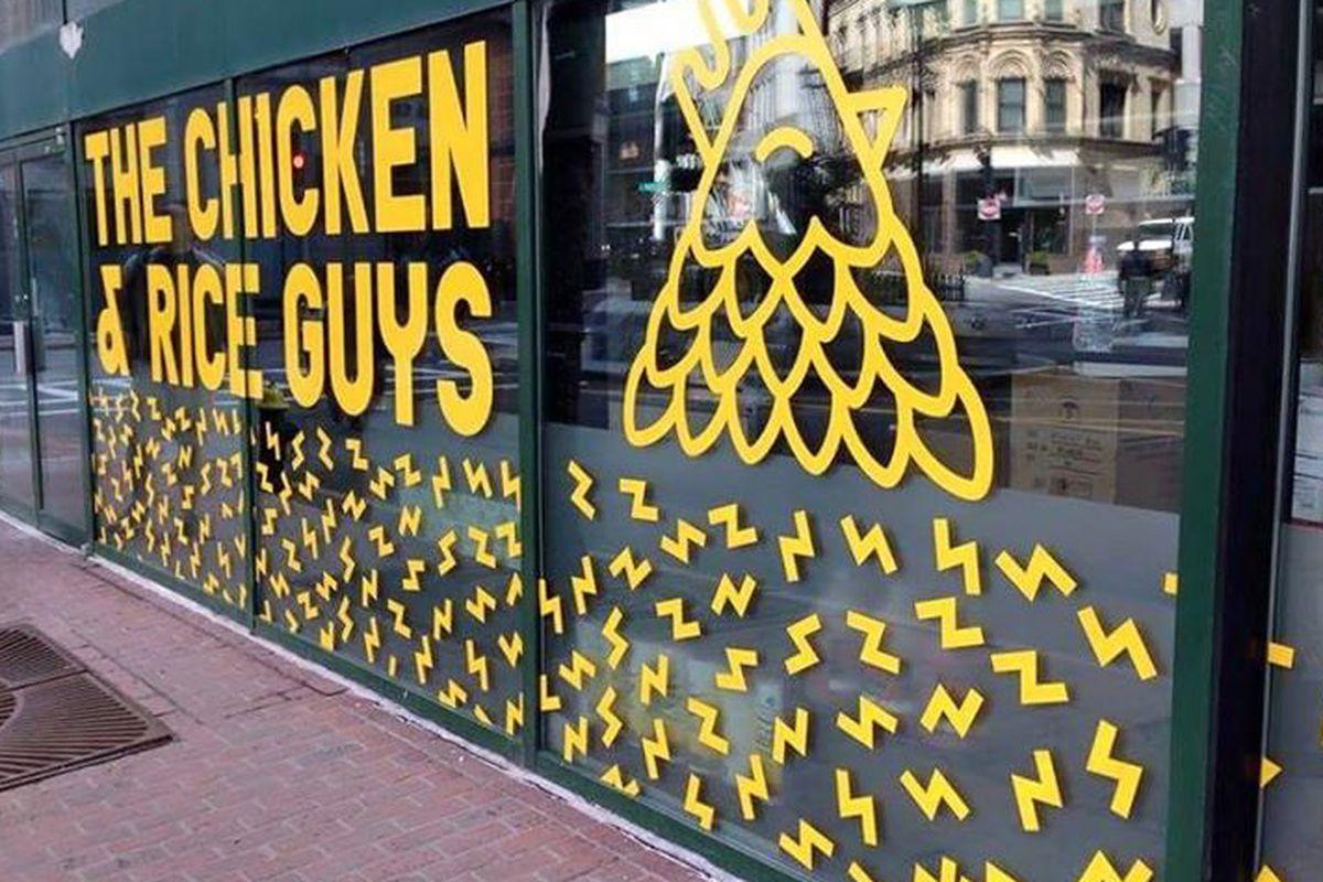 Chicken and Rice Guys Boston