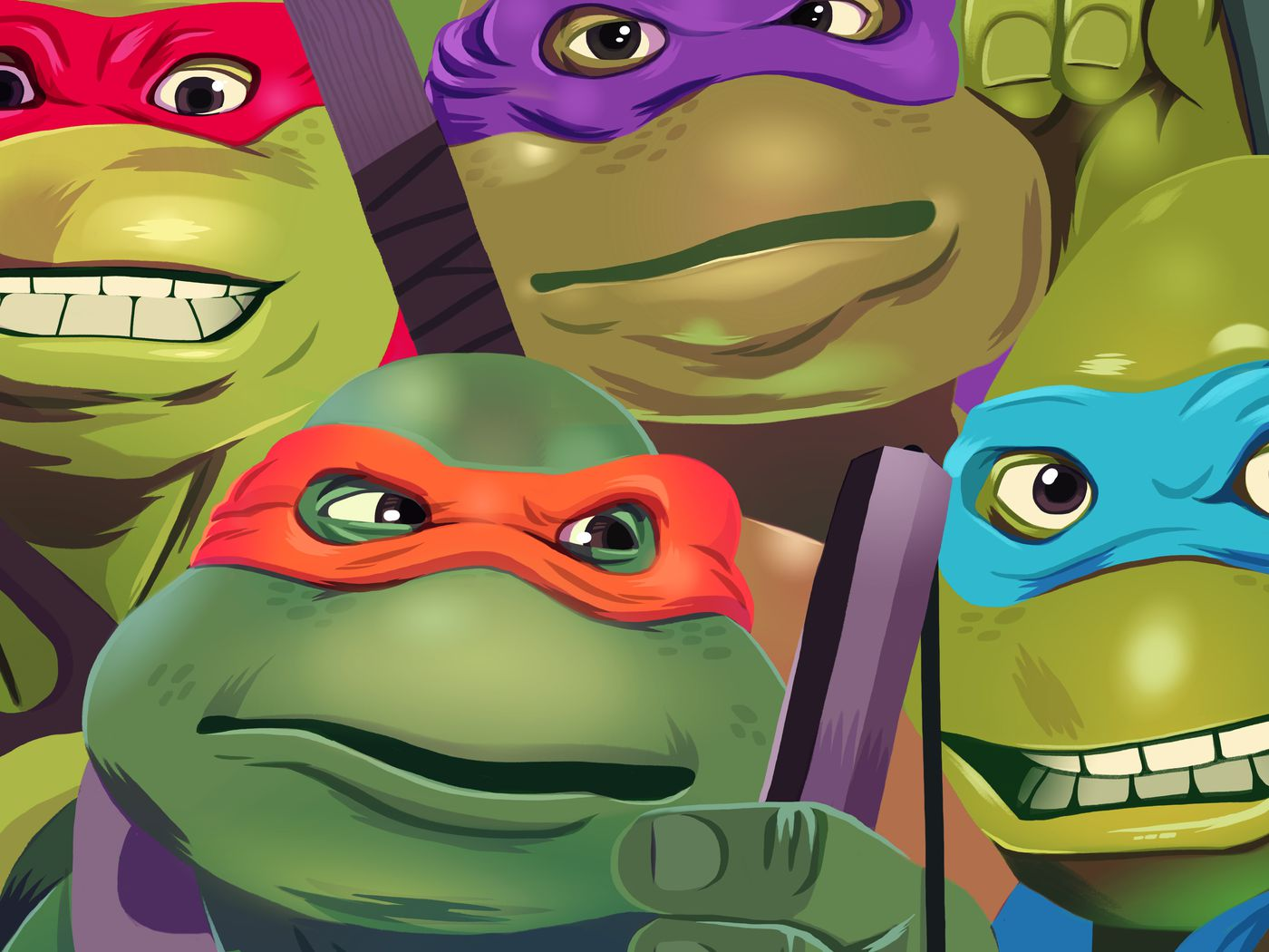 Green Screen The Oral History Of Teenage Mutant Ninja Turtles The Ringer