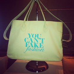 The You Can't Fake Fashion 2013 tote