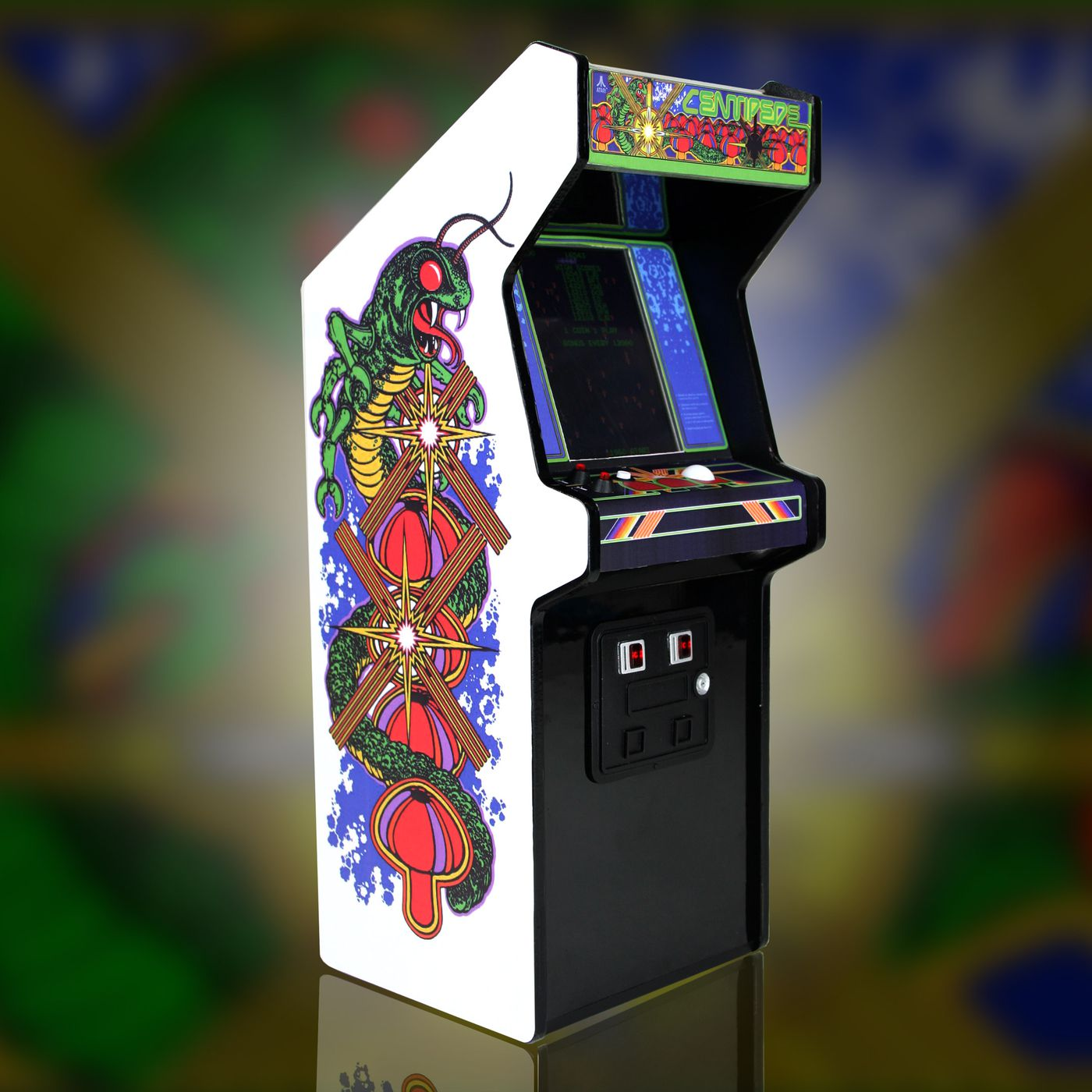 Miniature Collectible Arcade Cabinets Are Coming Starting With Centipede Polygon