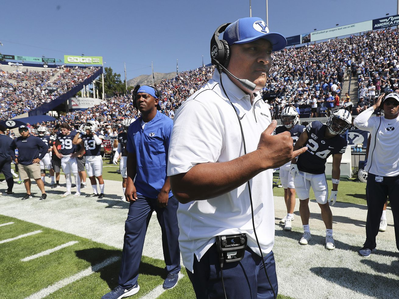Thrilling overtime home win over a ranked, Power Five opponent in USC should turn down the heat on BYU coach Kalani Sitake