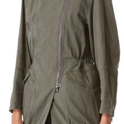 """Layered parka with detachable rabbit lining, $400 (via <a href=""""https://www.lyst.co.uk/clothing/31-phillip-lim-layered-parka-with-detachable-rabbit-lining-army-green/""""> Lyst</a>)"""